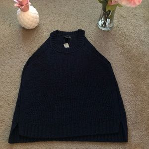 Jcrew sweater blouse tank